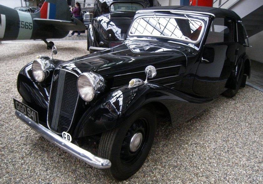 1937 Aero 50 Cabriolet, Československo (1936-1938) a