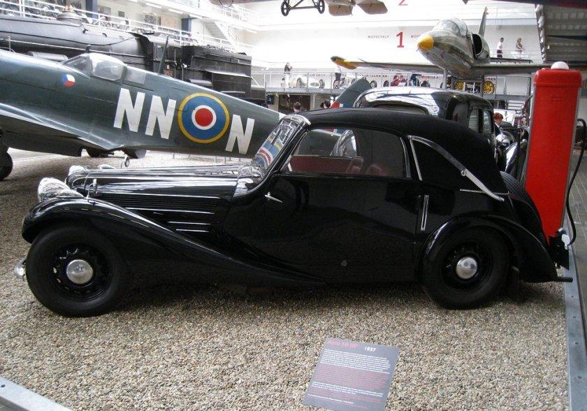 1937 Aero 50 Cabriolet, Československo (1936-1938) b
