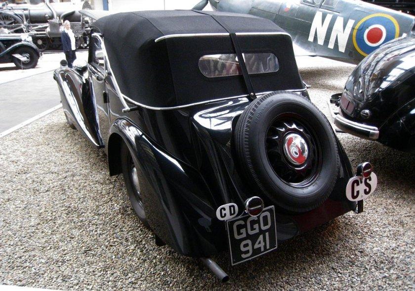 1937 Aero 50 Cabriolet, Československo (1936-1938) c