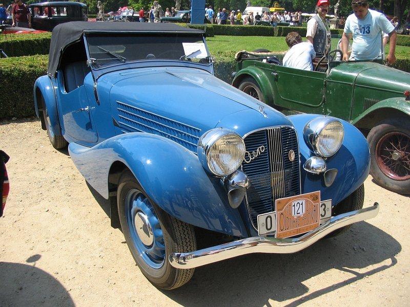 1937 Aero 50 Roadster, Československo (1936-1938) a