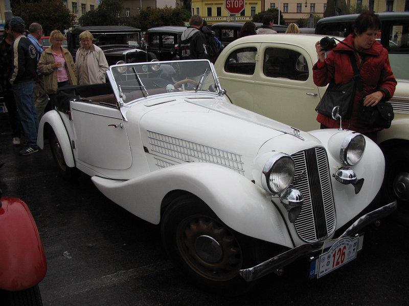 1937 Aero 50 Roadster, Československo (1936-1938) d