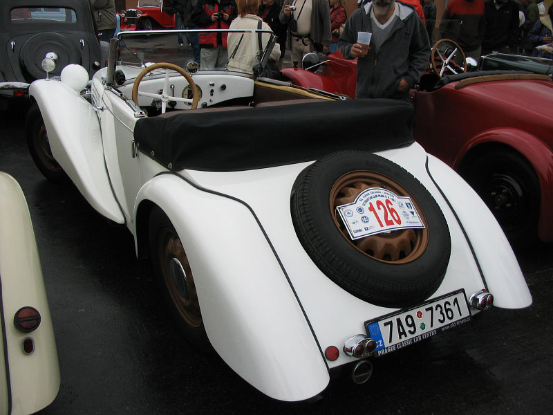1937 Aero 50 Roadster, Československo (1936-1938) e
