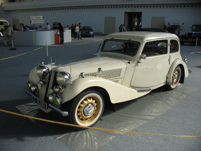 1937 Aero 50 Tudor, Československo (1936-1938) a