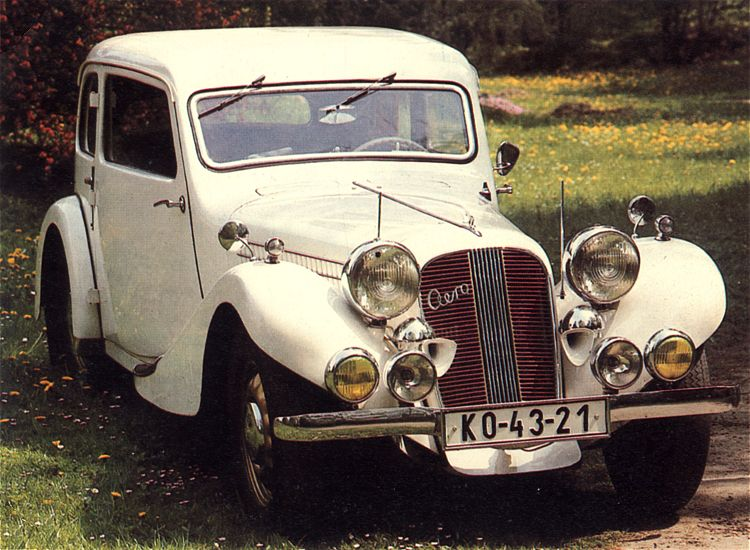 1937 Aero 50 Tudor, Československo (1936-1938) c