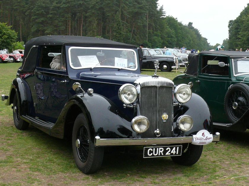1937 Daimler EL Twenty-Four 241