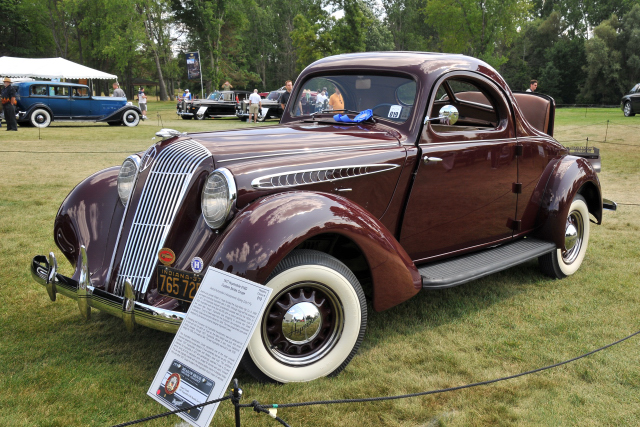 1937 Hupmobile 618G Custom Series Coupe