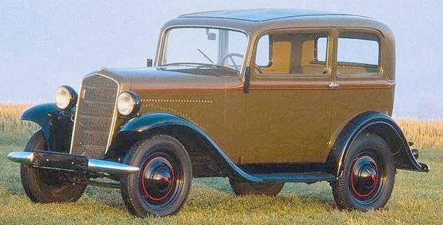 1937 Opel P4