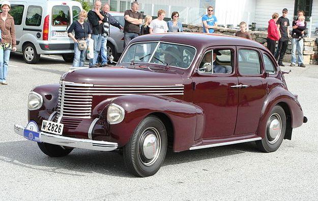 1938-40 opel Kapitän