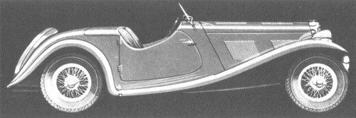 1938 AC 16-80 two-seater sports competition