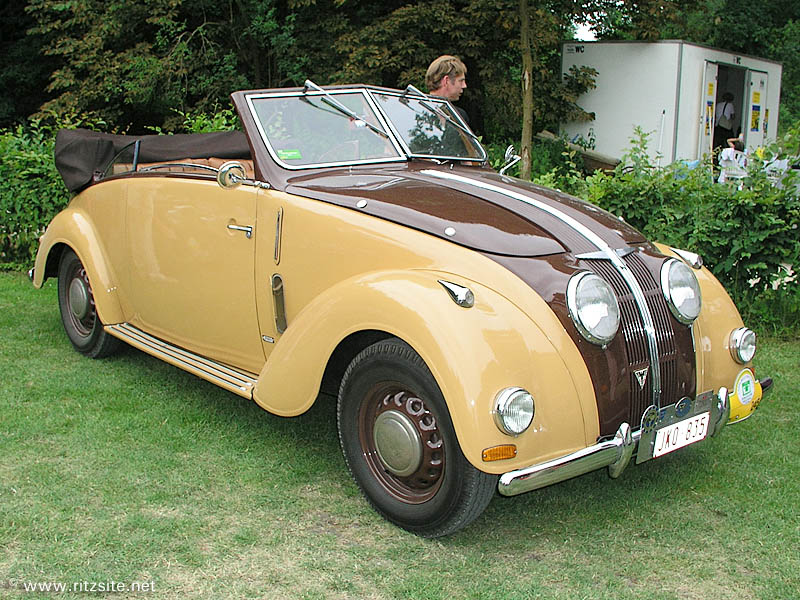 1938 Adler 2.5 Liter - 4-seater cabriolet body by Karmann