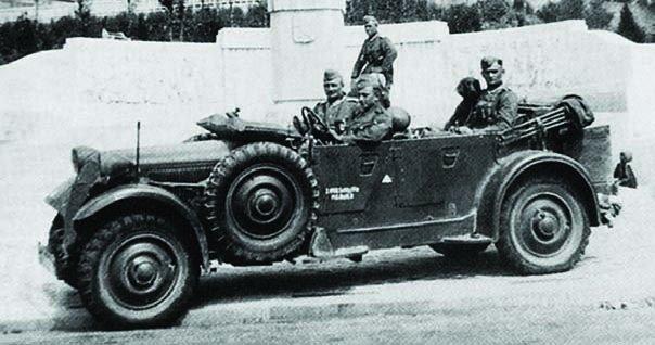 1938 Adler 3Gd (Kfz.12)