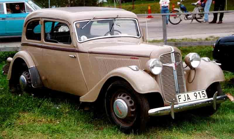 1938 Adler Trumpf Junior Limousine
