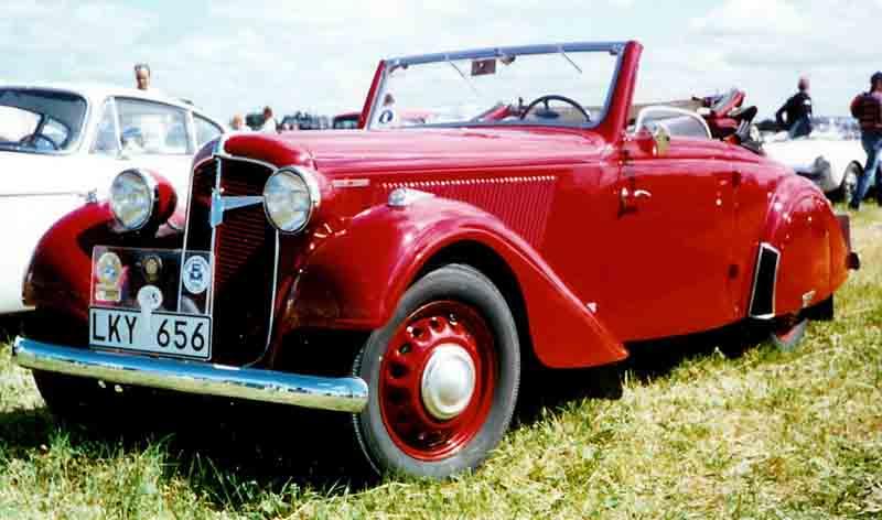 1938 Adler Trumpf Junior Sport Cabriolet