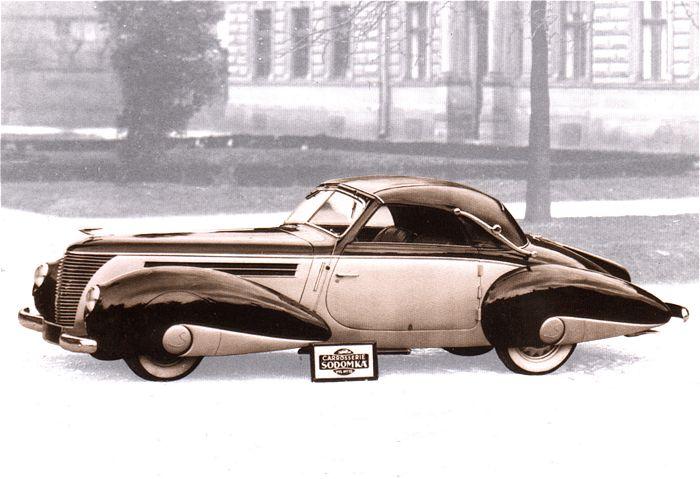 1938 Aero 50 Cabriolet Sodomka, Československo