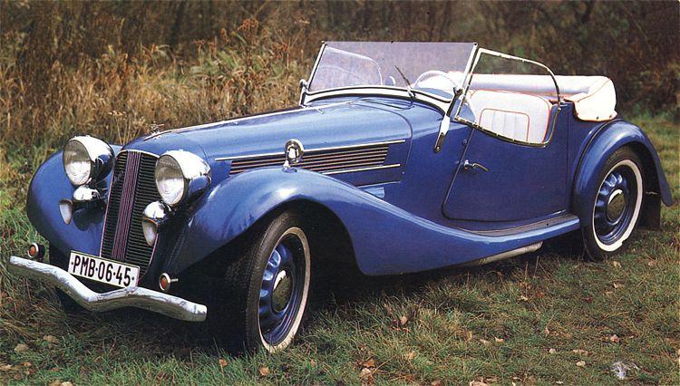 1938 Aero 50 Roadster, Československo (1936-1938) a