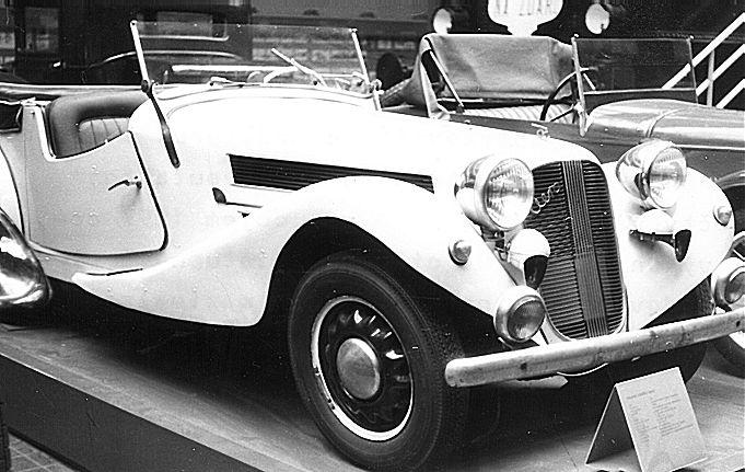 1938 Aero 50 Roadster, Československo (1936-1938) b