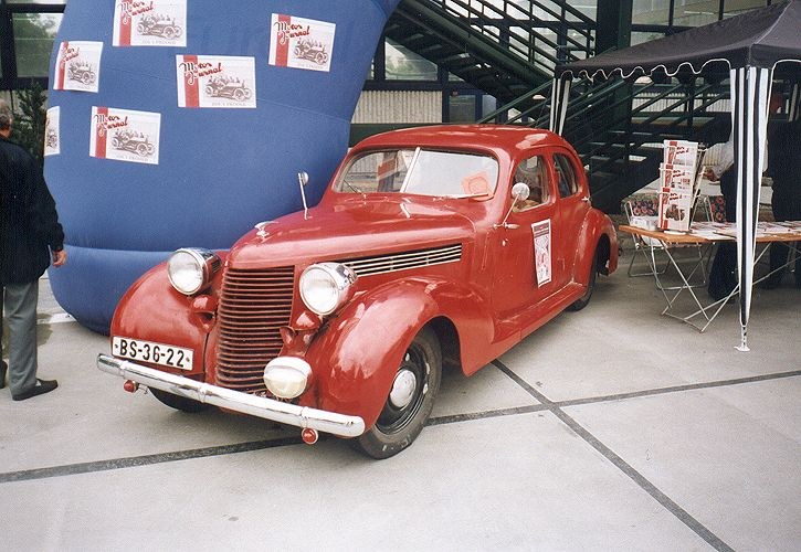1938 Aero 50 Sedan, Československo 1 (1938-1941)