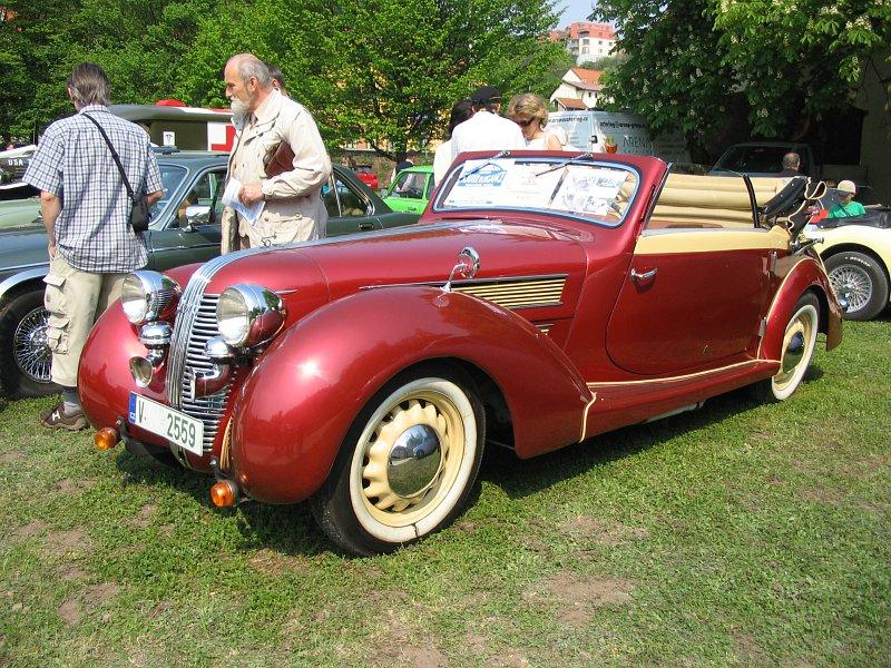 1938 Aero 50 Sodomka 2+1, Československo d