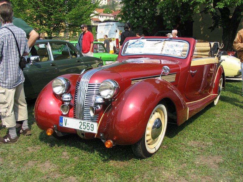 1938 Aero 50 Sodomka 2+1, Československo f