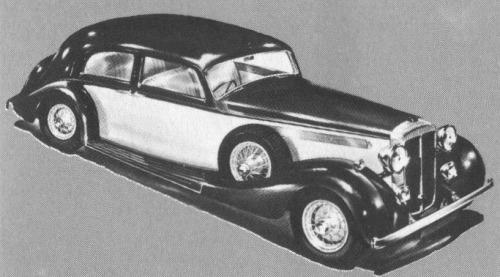 1938 Daimler light straight eight vanden plas