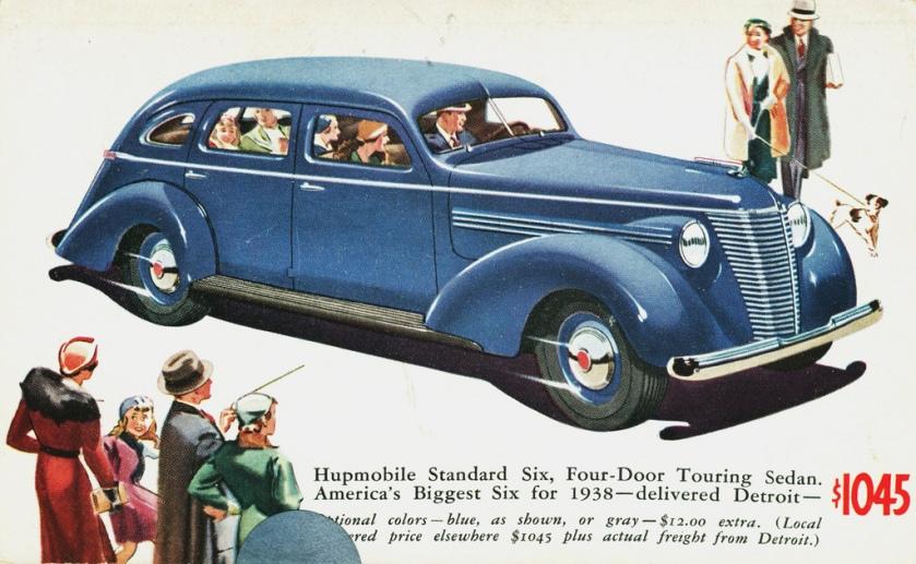 1938 Hupmobile Skylark Postcard-01