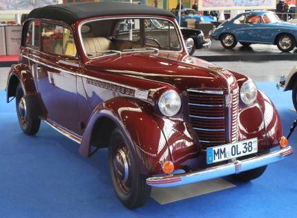 1938 Opel Olympia Cabrio-Limousine