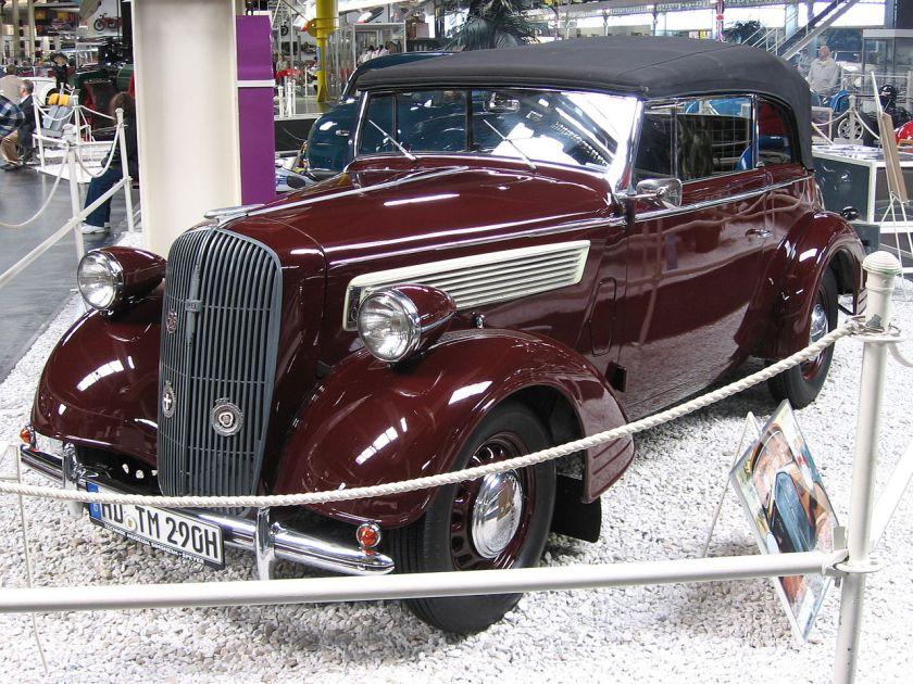 1938 Opel Super6 Cabrio