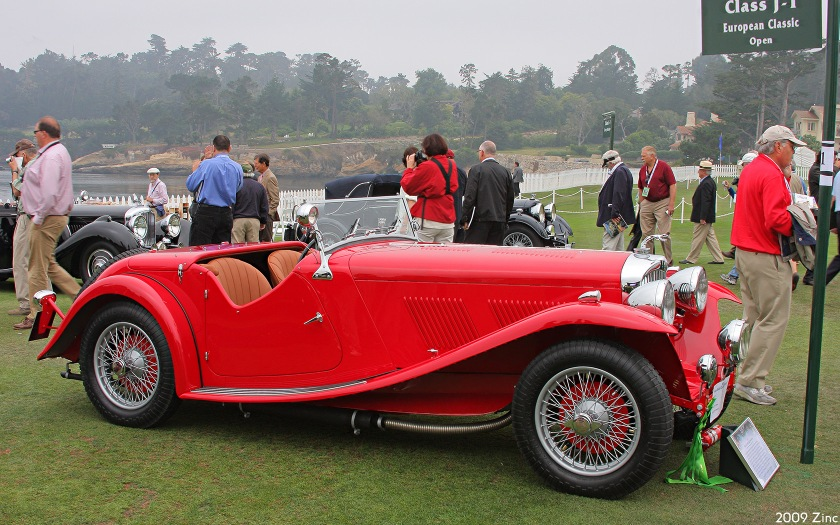 1939 AC 16-80 open 2-seater 1939 body by March Sport