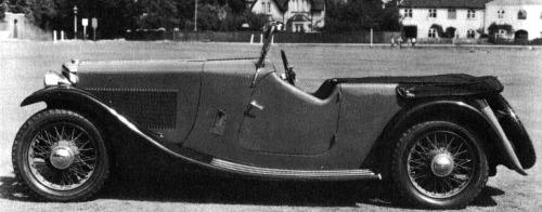 1939 AC 16-80 tourer