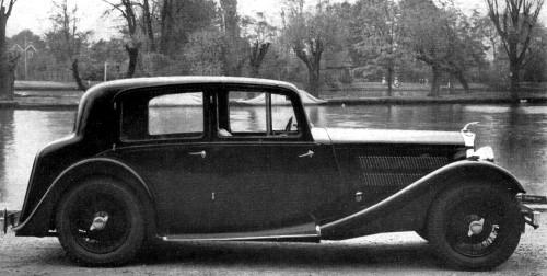 1939 AC 2-litre saloon