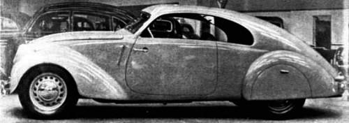 1939 Adler 10 Sport-Limousine Buhne