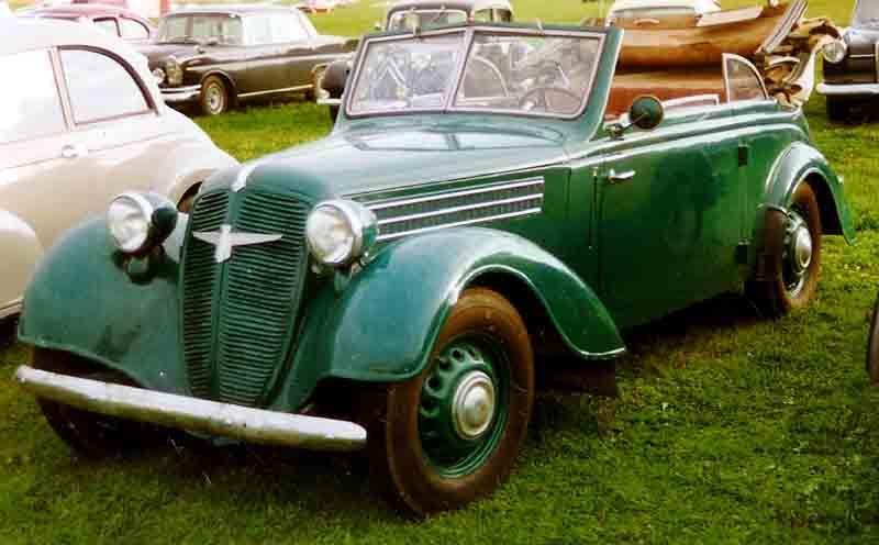 1939 Adler 2 Liter Cabriolet