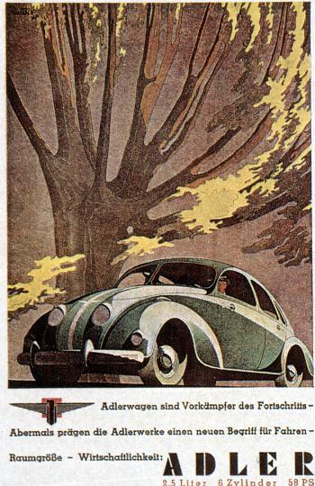 1939 Adler autobahn