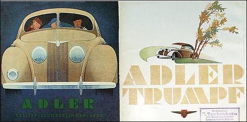1939 Adler range