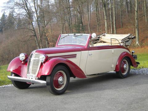 1939 Adler Triumpf Cabriolet