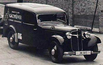 1939 Adler trumpf furgon