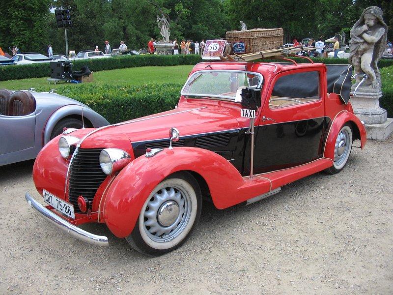 1939 Aero 30 Polokabriolet Sodomka, Československo 1939 (1935-1939) a