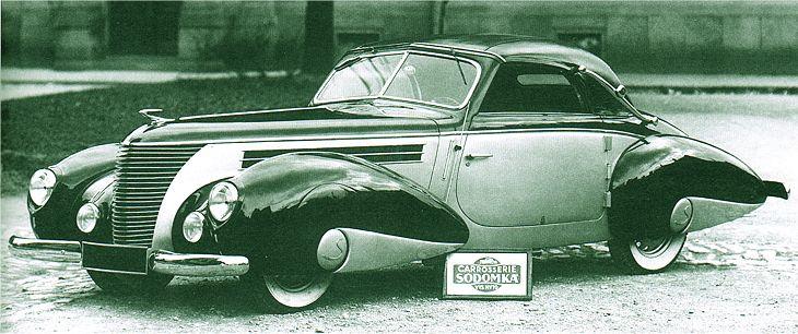 1939 Aero 50 Cabriolet Sodomka, Československo