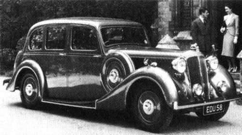1939 Daimler 24 saloon