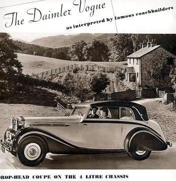 1939 Daimler 4ltr vogue