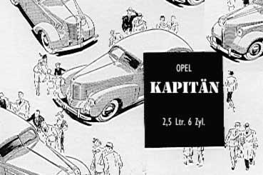 1939 opel kapitän bw