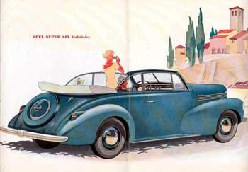 1939 Opel Kapitän works Cabriolet folder-5k