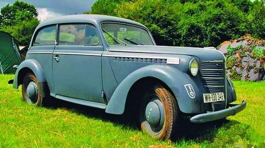 1939 Opel Olympia OL38