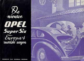 1939 opel super 6