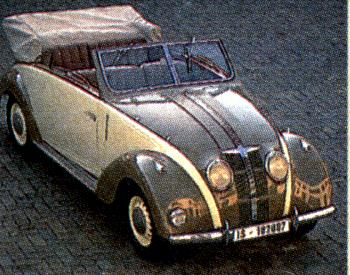 1940 Adler 2,5 liter karmann