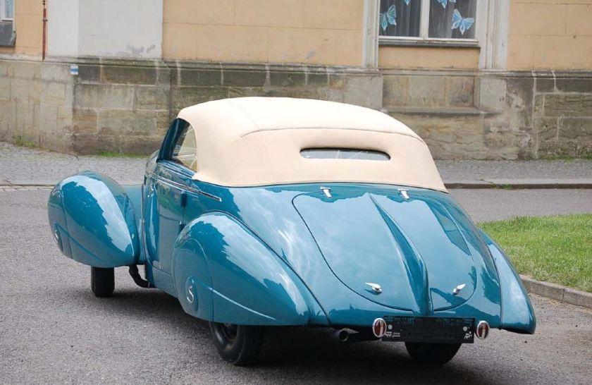 1940 Aero 50 Dynamik Sodomka, Čechy b