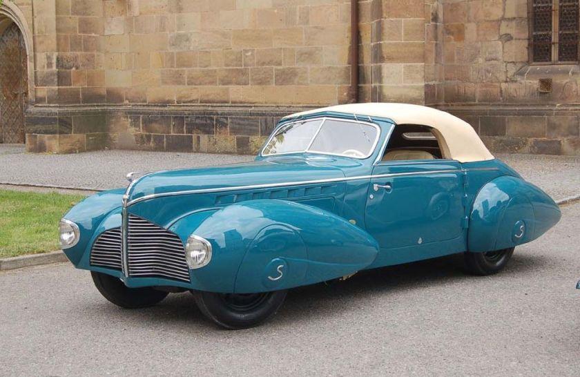 1940 Aero 50 Dynamik Sodomka, Čechy d
