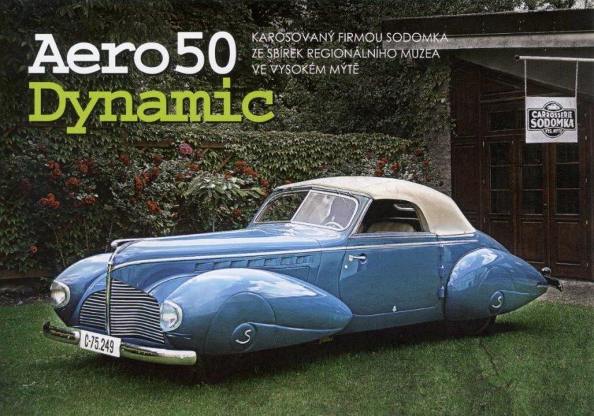1940 Aero 50 Dynamik Sodomka, Čechy g