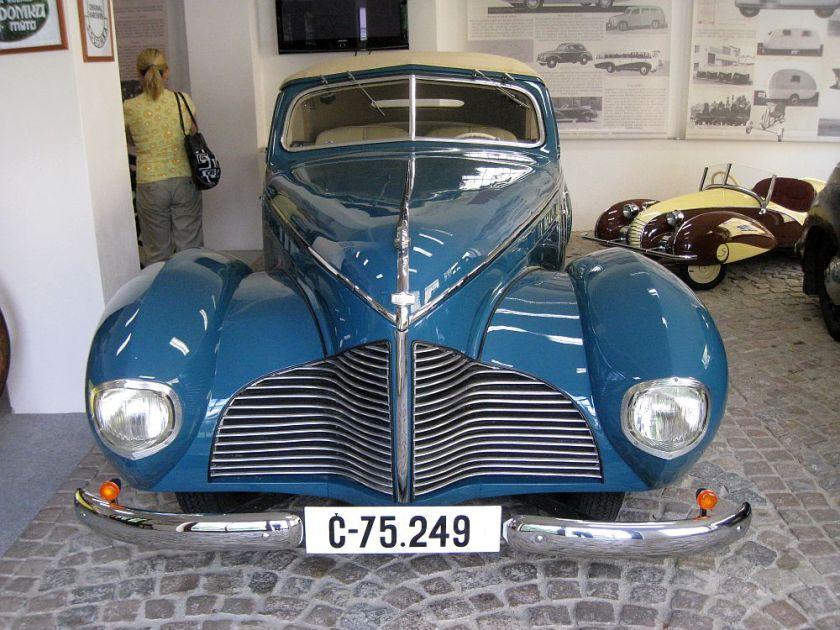 1940 Aero 50 Dynamik Sodomka, Čechy i