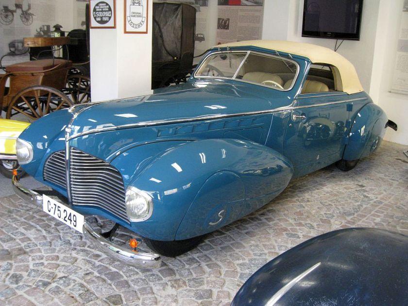 1940 Aero 50 Dynamik Sodomka, Čechy t